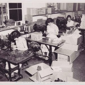 Island Slipper Pearl City Factory, 1955
