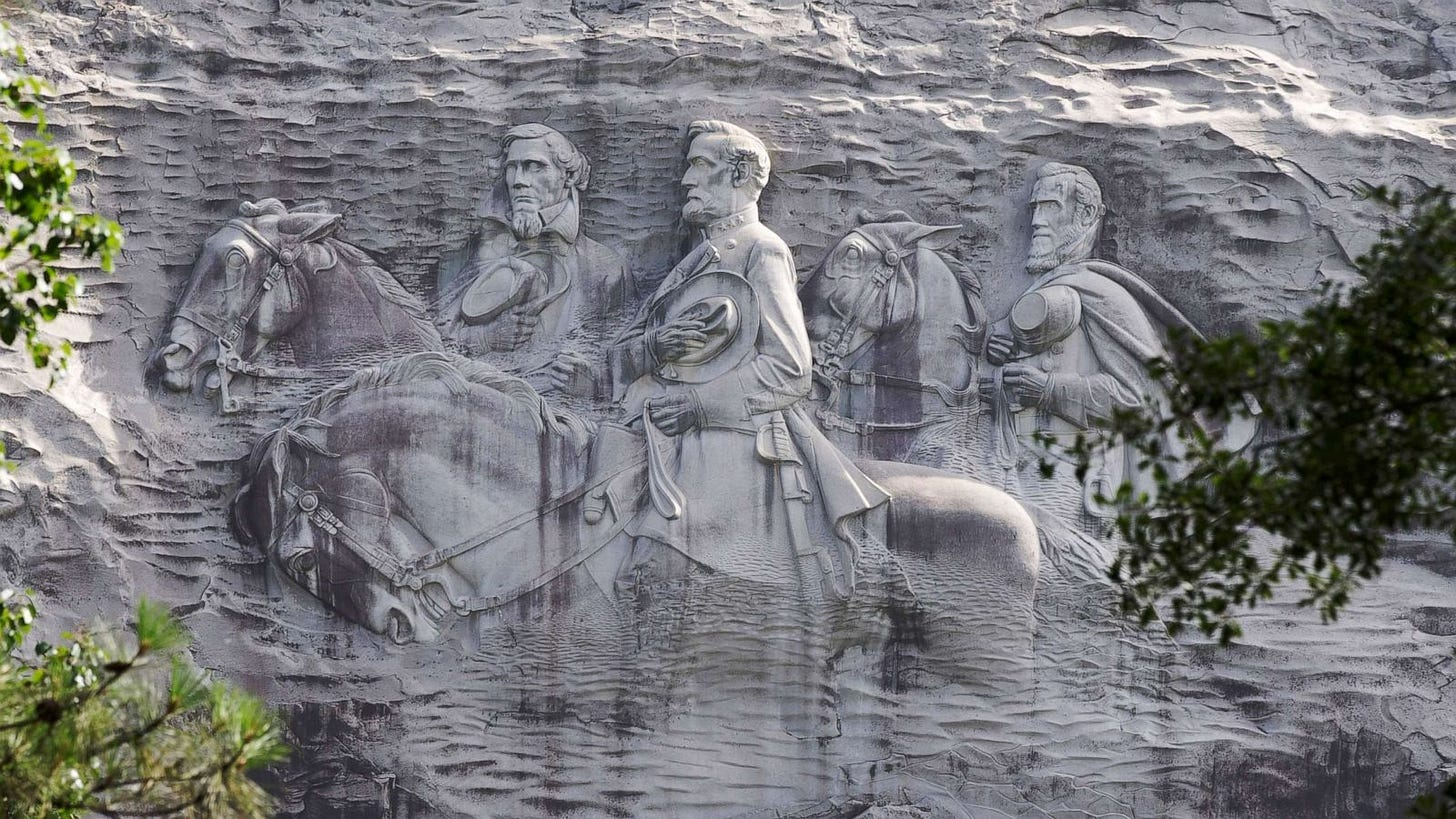 Georgia activists seek to remove 'Stone Mountain', the 'granddaddy of  Confederate monuments' - ABC News