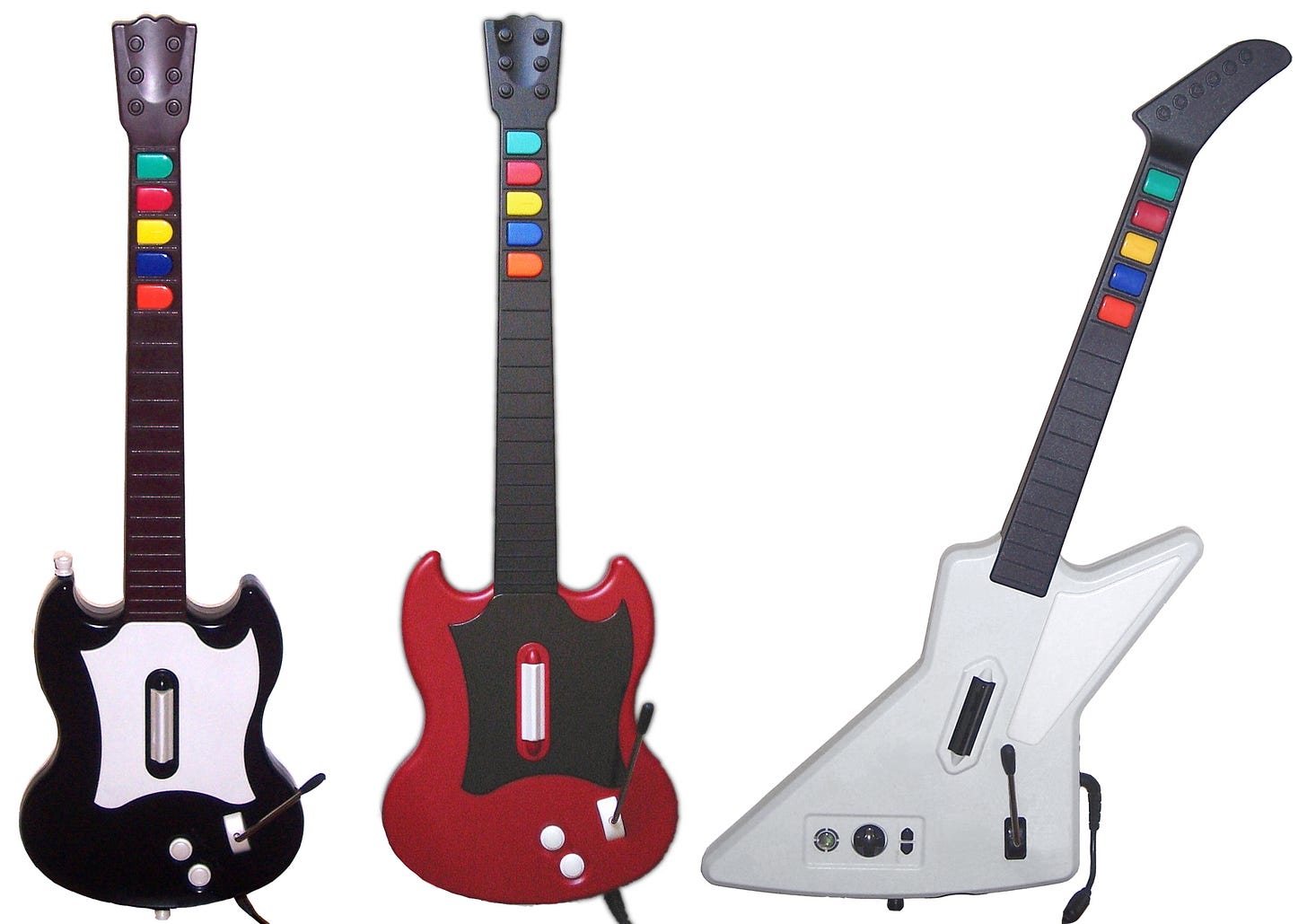 Guitar Hero controllers
