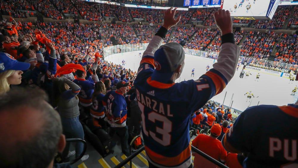 Islanders Fans Returning to Nassau Coliseum on March 18