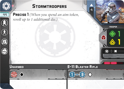 Stormtroopers Unit Card
