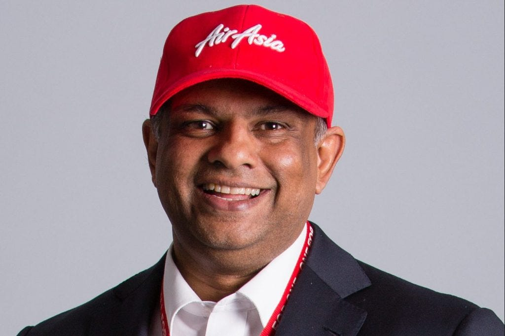 AirAsia CEO Tony Fernandes Out For Now Amid Airbus Bribery Probe ...