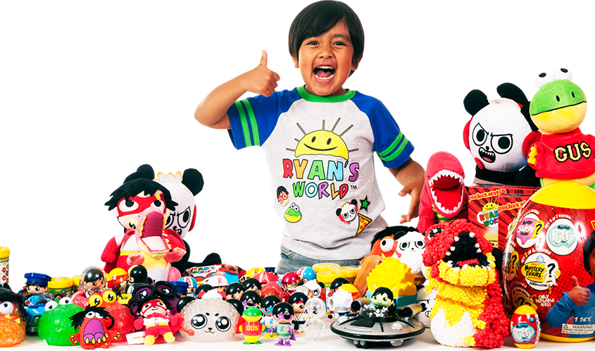 pocket.watch Debuts Ryan's World Line Based on Ryan ToysReview • The Toy  Book