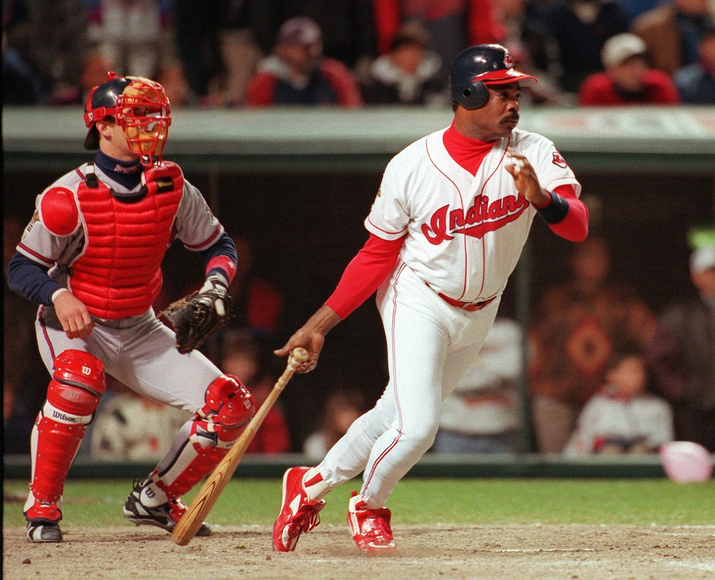 1995 World Series Game 3: Cleveland Indians 7, Atlanta Braves 6 ...