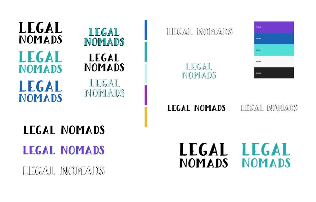 legal nomads logos for 2020