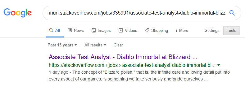 diablo immortal job opening