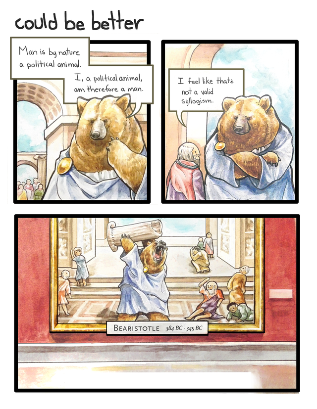 Philosi-bear : comics