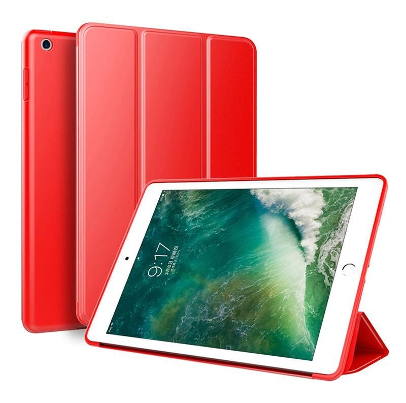 SUREHIN silicone case for apple iPad 10.2 cover slim thin magnetic protective soft back skin 7 cover for iPad 10.2 case 2019