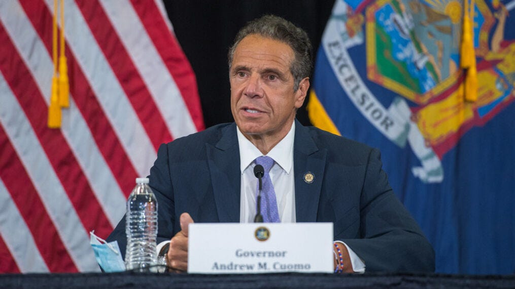 Image result for cuomo press conference