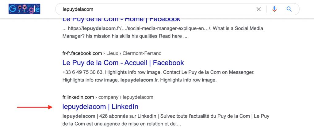 référencer votre page entreprise linkedin