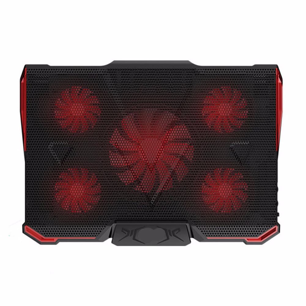 COOLCOLD Laptop Stand USB laptop Cooler With Five Fans Ventilador Usb Cooler Gaming Daily Use For 13.3~17inch Laptops