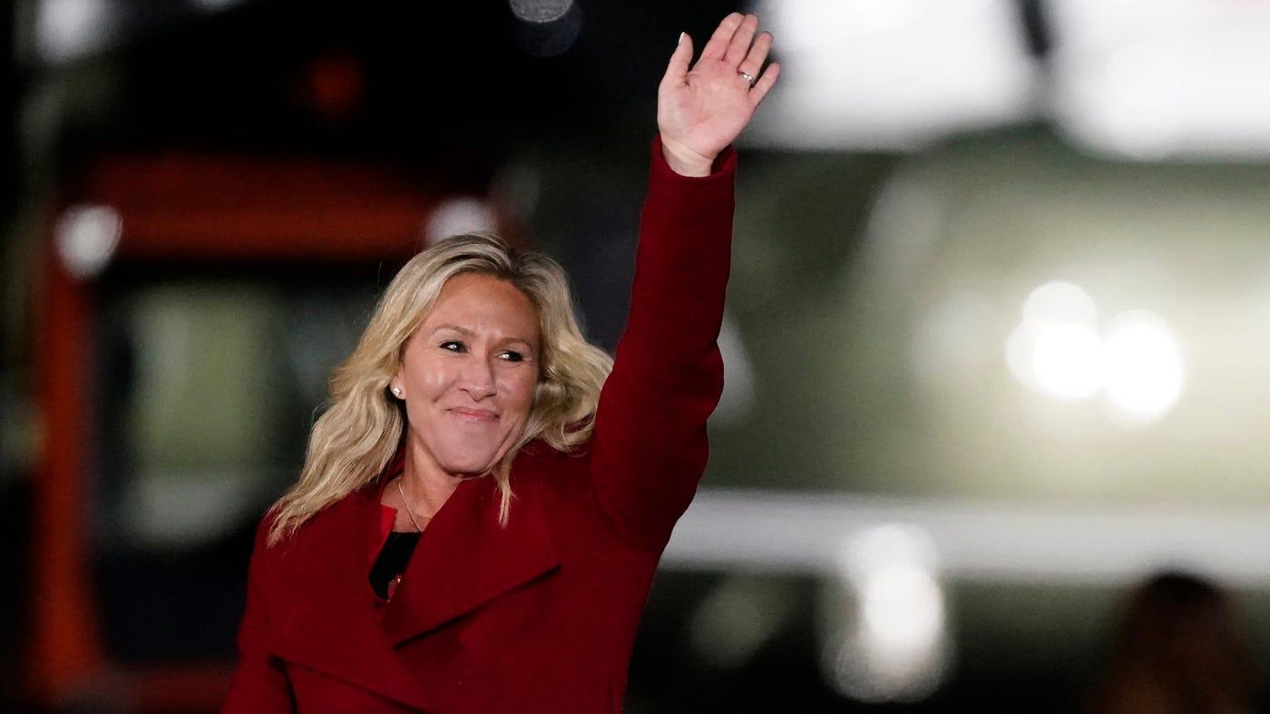 Pelosi Blasts GOP Leadership Over Rep. Marjorie Taylor Greene's Remarks :  NPR