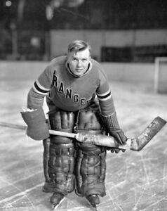 1934 New York Rangers Goalie Andy Aitkenhead Black & White 8 X 10 Photo  Picture | eBay
