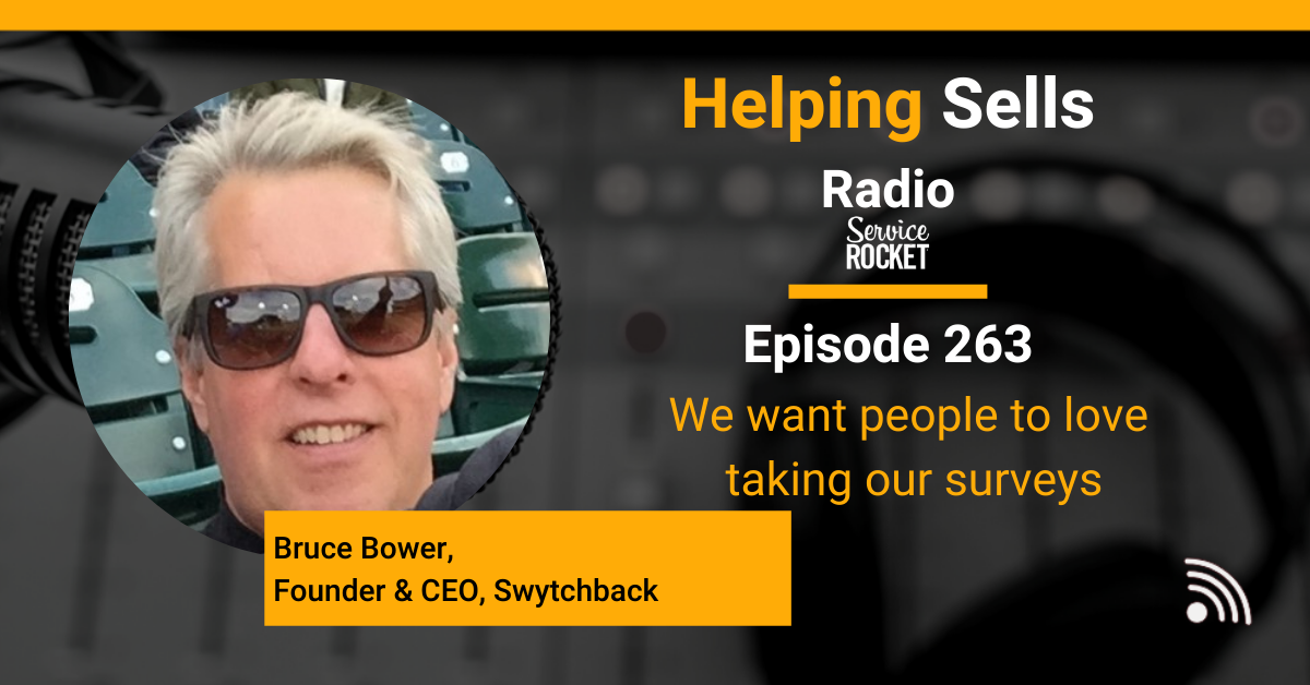 Bruce Bower of Swytchback on Helping Sells Radio Podcast with Bill Cushard