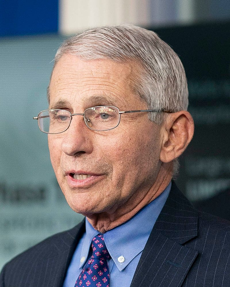 Dr. Anthony Fauci in 2020