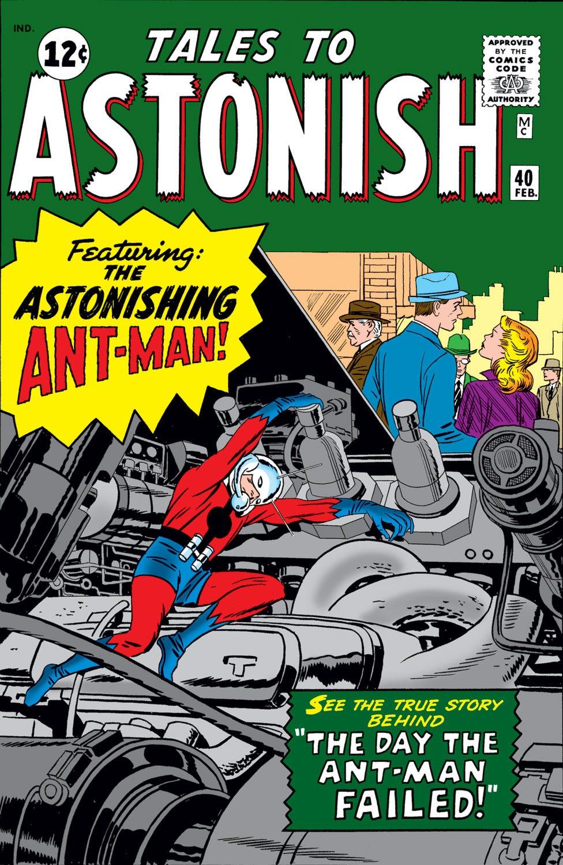 Tales to Astonish Vol 1 40   Marvel Database   Fandom