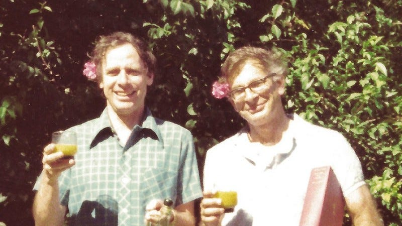 Amos Tversky and Daniel Kahneman in 70s