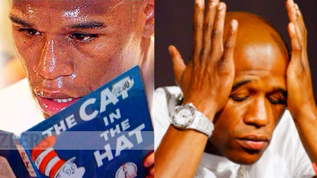 Floyd Maywether Struggles To Read Cat In The Hat - YouTube
