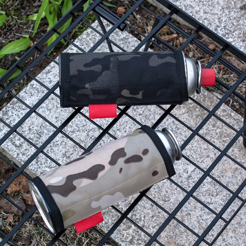 6.5x9.9cm Gas Canister Cover Protector Camping Fuel Cylinder Storage Bag