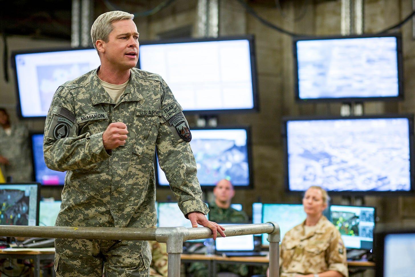 War Machine: The Story Behind Brad Pitt Netflix Movie | Time