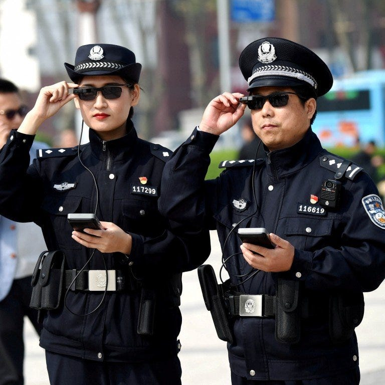 Chinese AR start-up develops smart glasses to help police catch ...