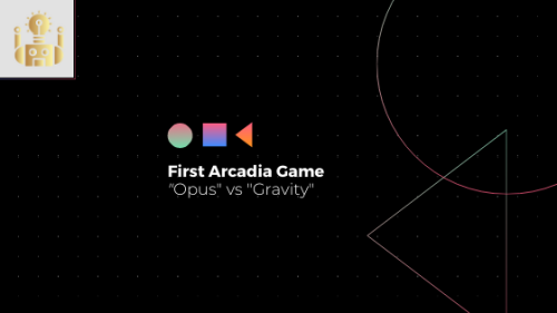 Announcing the first Arcadia Game!