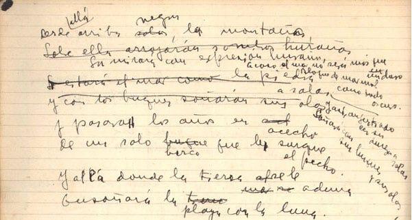 Manuscrito Storni