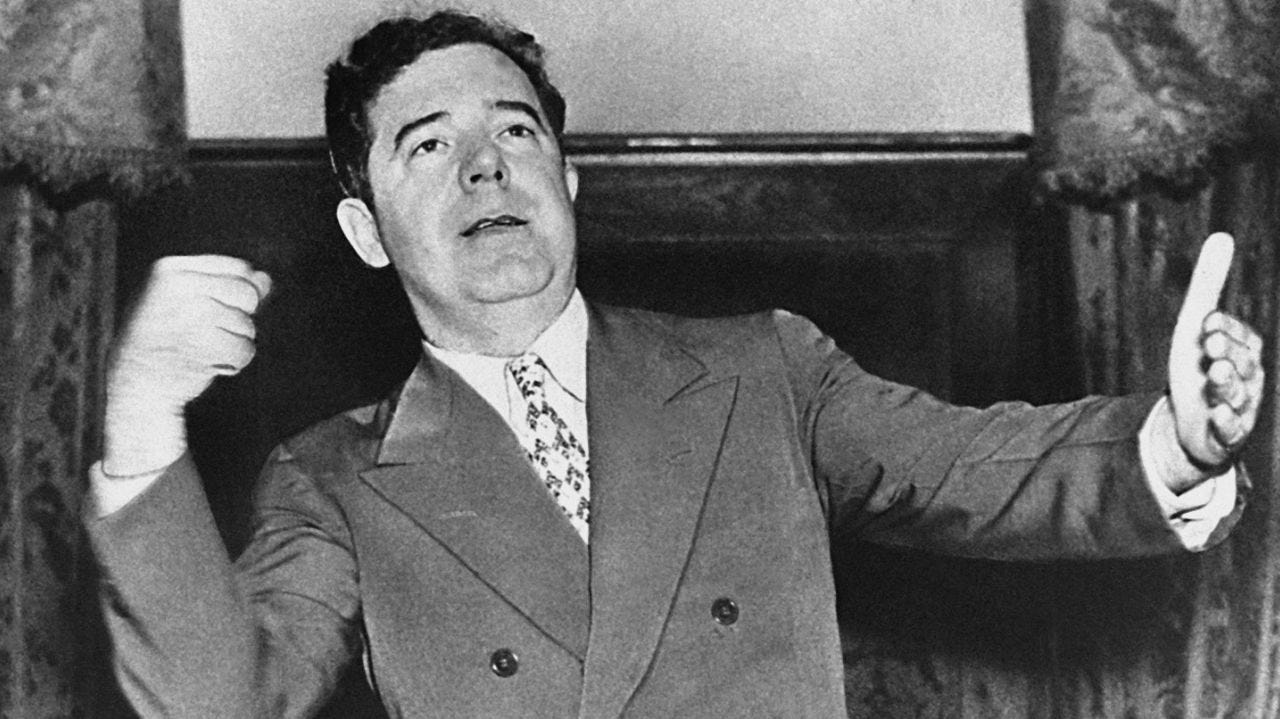 Huey Long campaigned as a populist long before Donald Trump   Newsday