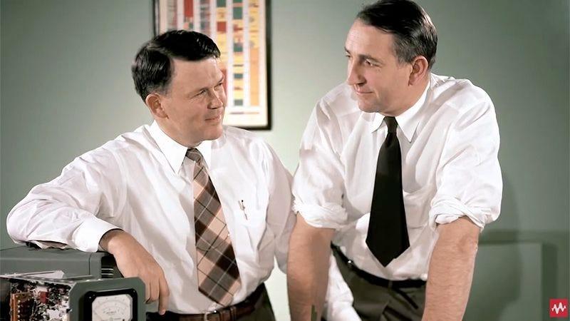Hewlett and Packard