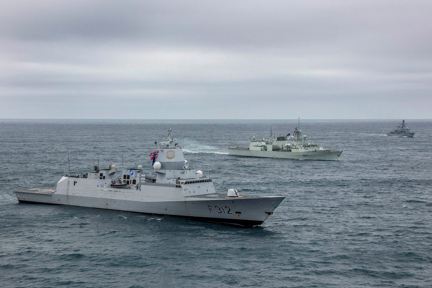 UK warships join 'formidable' NATO force off Iceland