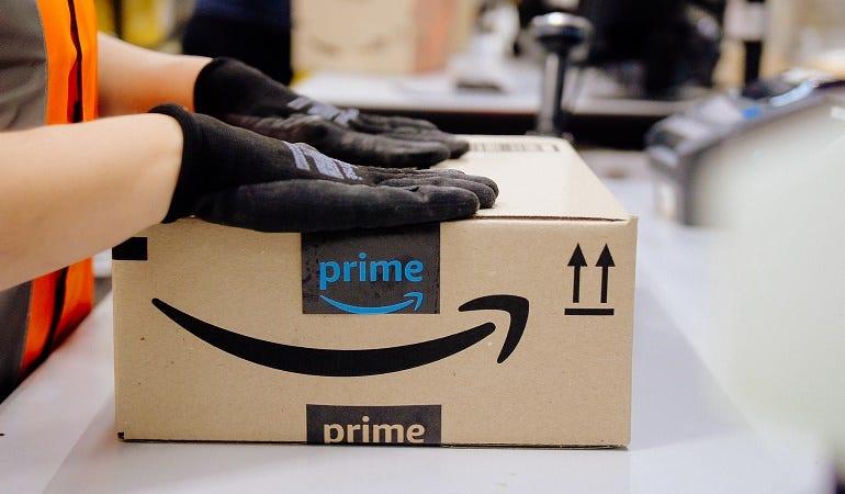 Amazon Prime box small - Appliance Retailer