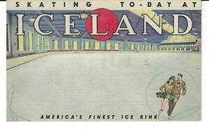 NEW YORK CITY ICELAND SKATING RINK, ATOP MADISON SQUARE GARDEN, 8TH & 50TH  NYC | eBay