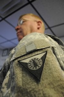 New insignia recognizes soldiers' national mission