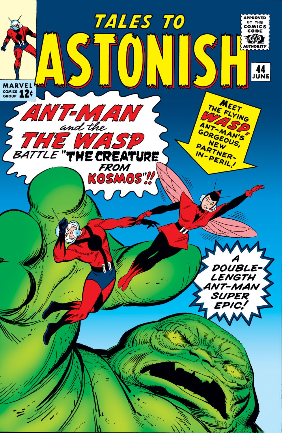Tales to Astonish (1959) #44   Comic Issues   Marvel