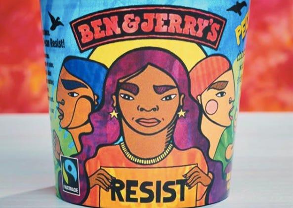 Ben & Jerry's Latest Flavor Pecan Resist Wants To Inspire Activism ...