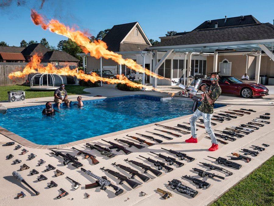 "The ""Ameriguns"": Schriever, Louisiana - Winners of the 2021 World Press Photo Contest"