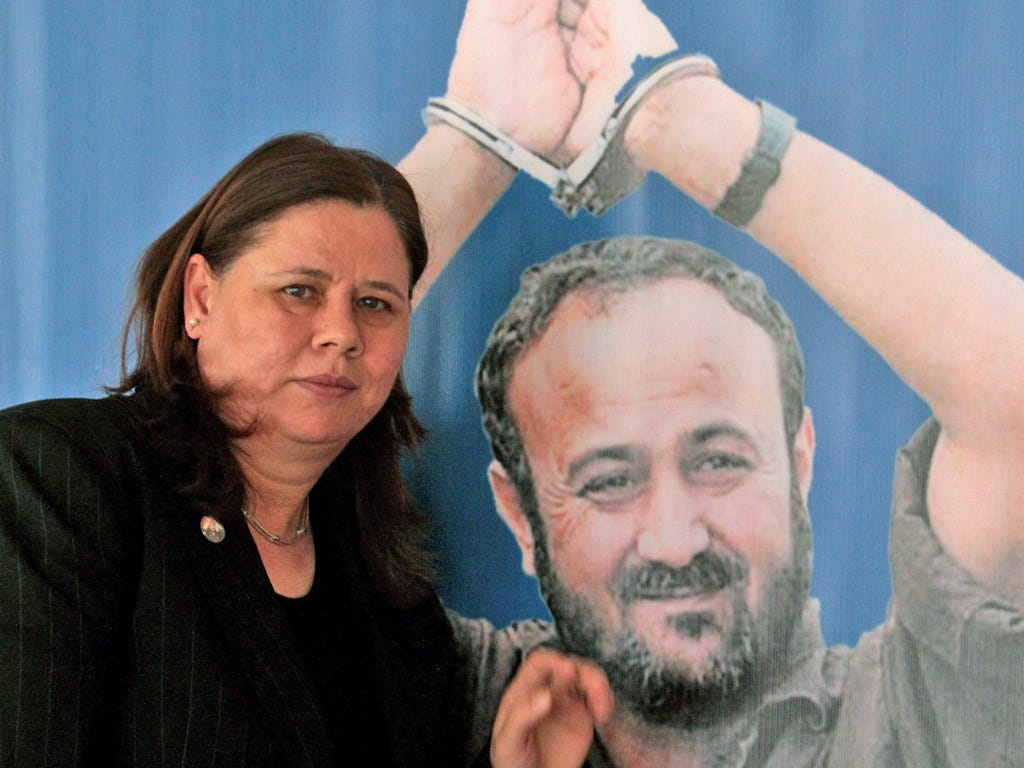 Fadwa Barghouti: 'For peace to come, Israel must release my husband' | The  Independent | The Independent