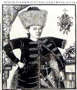 Drawing of False Dmitri I