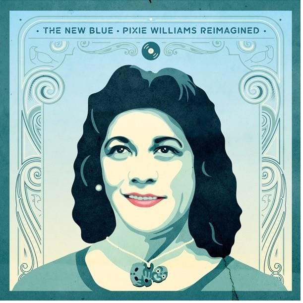 VARIOUS - The New Blue - Pixie Williams Reimagined – Flying Out