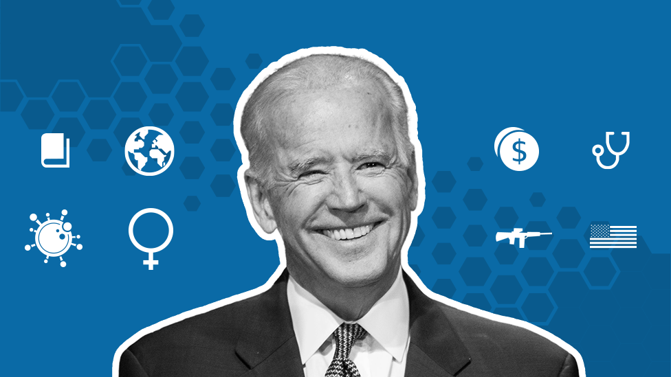 Joe Biden: Where does he stand on key issues? - BBC News