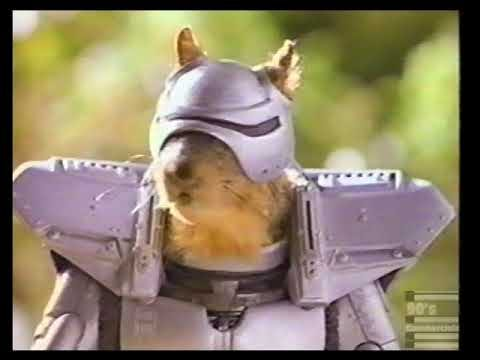 General Mills Clusters Cereal Squirrel Cyborg Commercial 1994 - YouTube