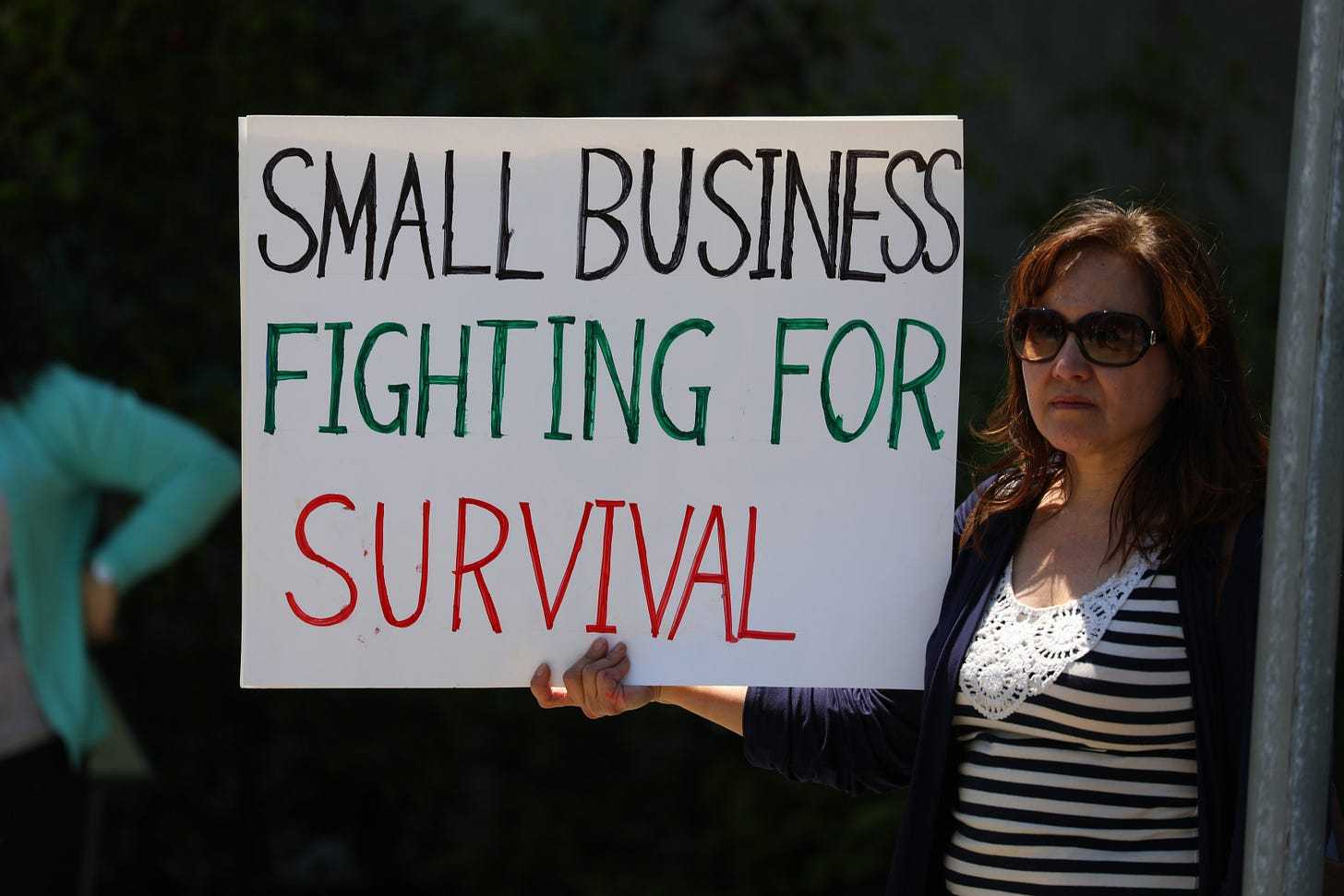 small business fighting or survival