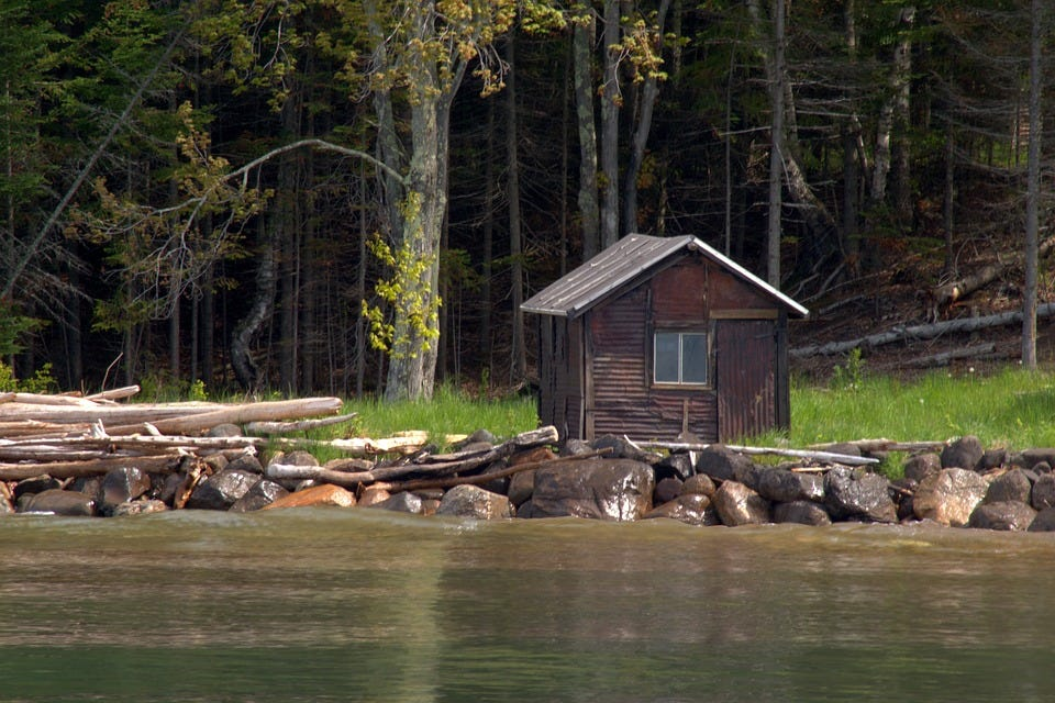 Manitou Island Fish Camp Cabin, Apostle Islands