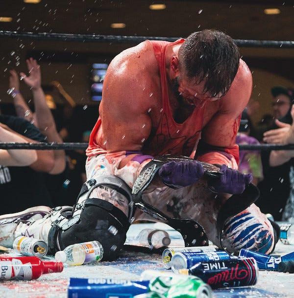 Matt Cardona, GCW title belt