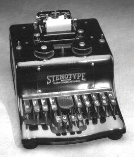 Ireland Stenotype Shorthand Machine(Ward Stone Ireland) | Court ...