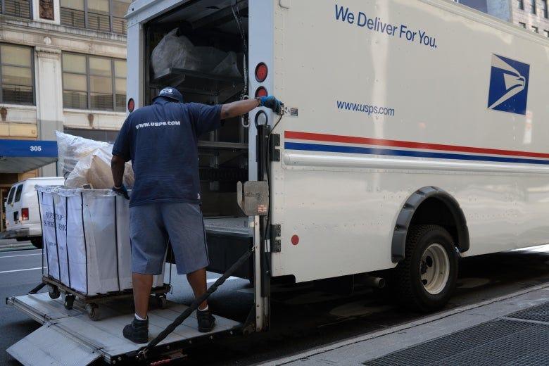 Democrats demand postal leaders explain mail delays at urgent hearing.