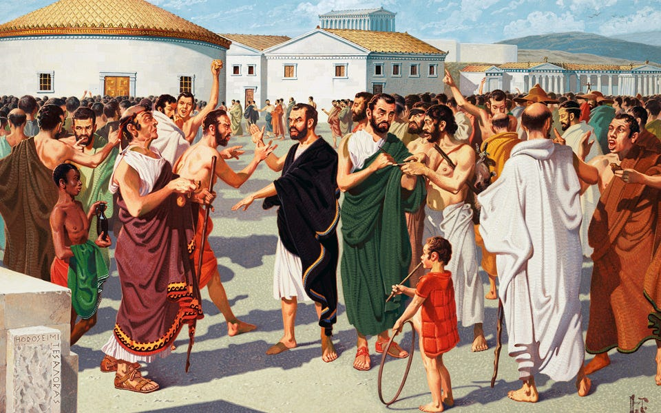 Understanding the Agora - Greece Is