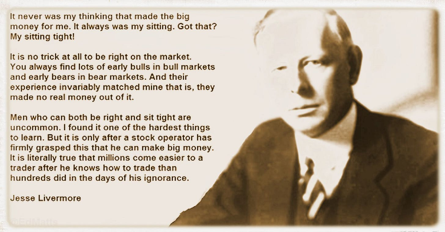 The Wisdom of Jesse Livermore, some trading lessons. | The World of English