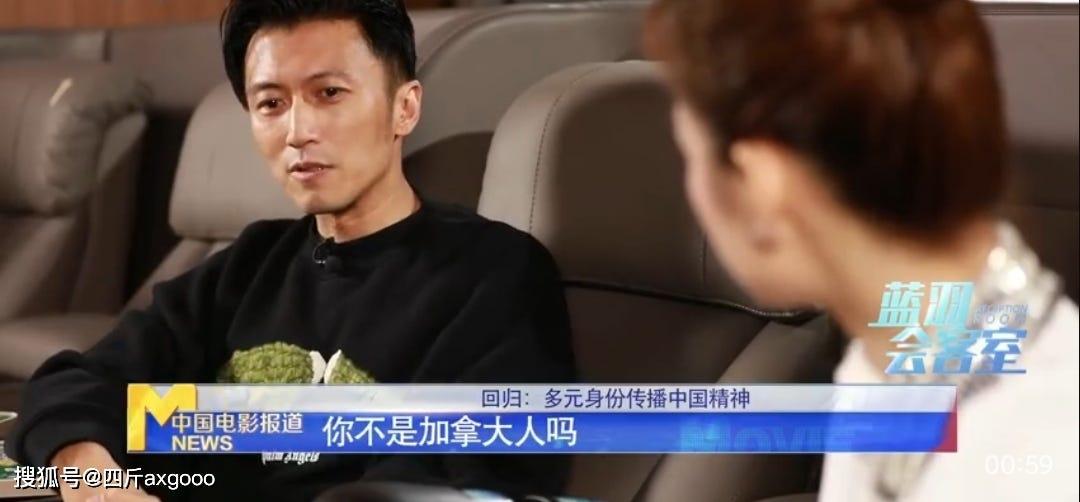 谢霆锋接受央视采访,高调宣布退出加拿大国籍,父亲谢贤表示支持_中国