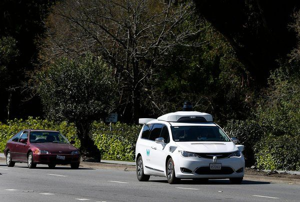 Self-driving cars aren't in control of their own future.